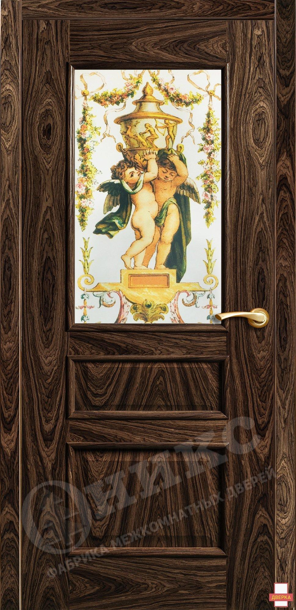 Версаль Американский орех Фотопечать на сатинате