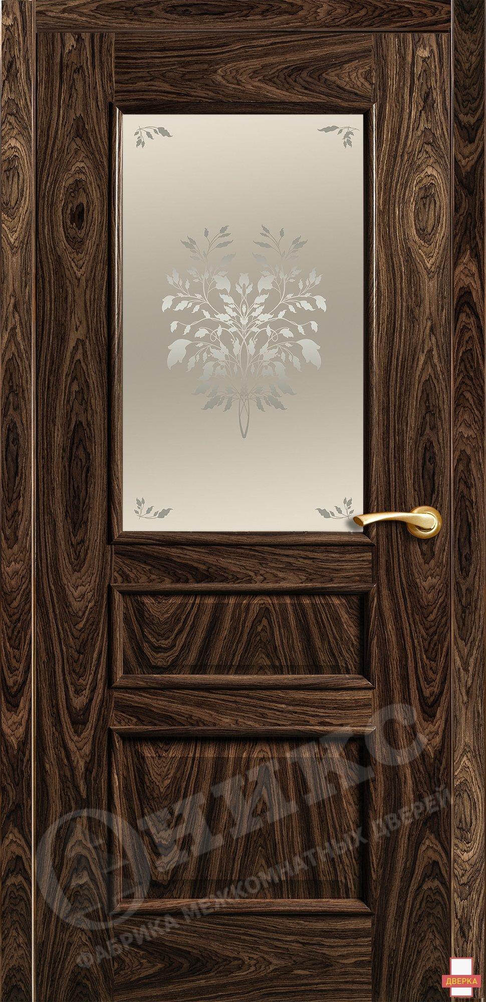Версаль Американский орех Художественный сатинат Дерево