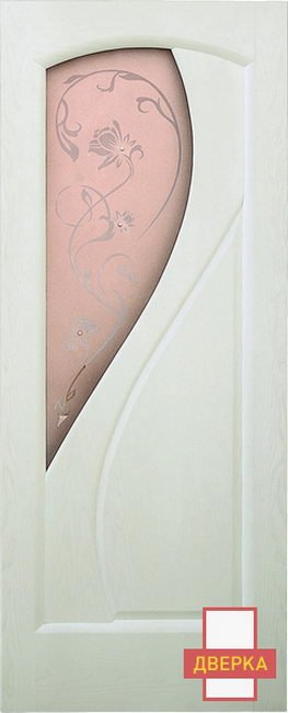 Версаль Белый Ясень Стекло
