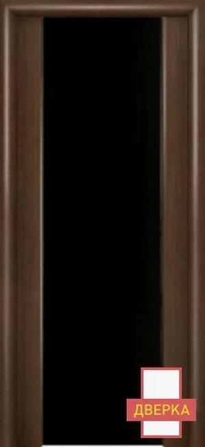 Престиж Венге Стекло широкое Черное Триплекс