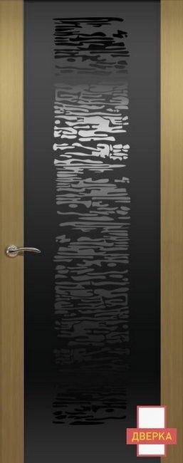 De Vesta P Стекло Черное Concept Cеребристый Дуб