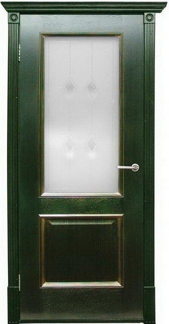 Триест Зеленый Стекло