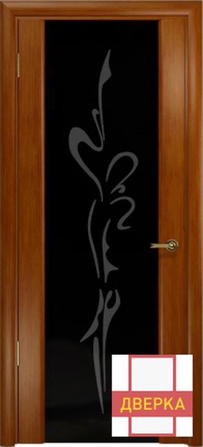 Спациа 3 Темный Анегри Черный триплекс Рисунок Балерина