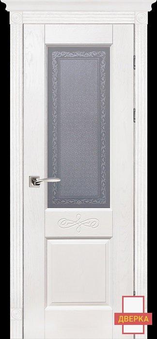 Classic Модель №5 Белый Стекло Массив Дуба
