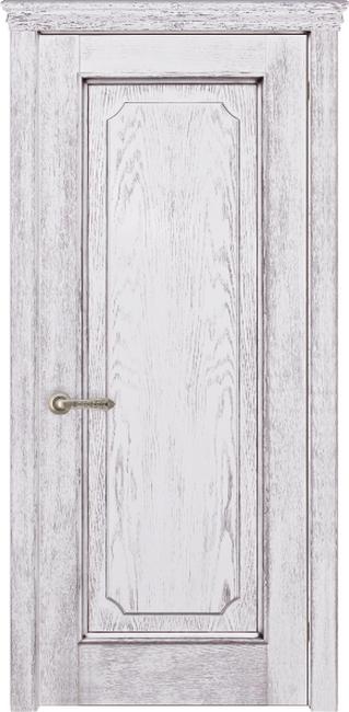 Арт Декор-1 Белый Патина Серебро