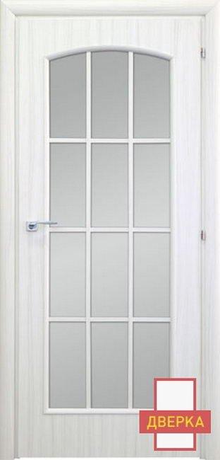 Saluto 6012LR Стекло Белый Палисандр