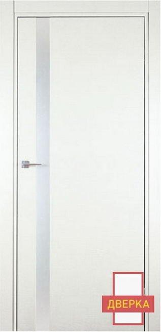 Minimo 501DB Стекло AZIMUT Белый (карточные петли)